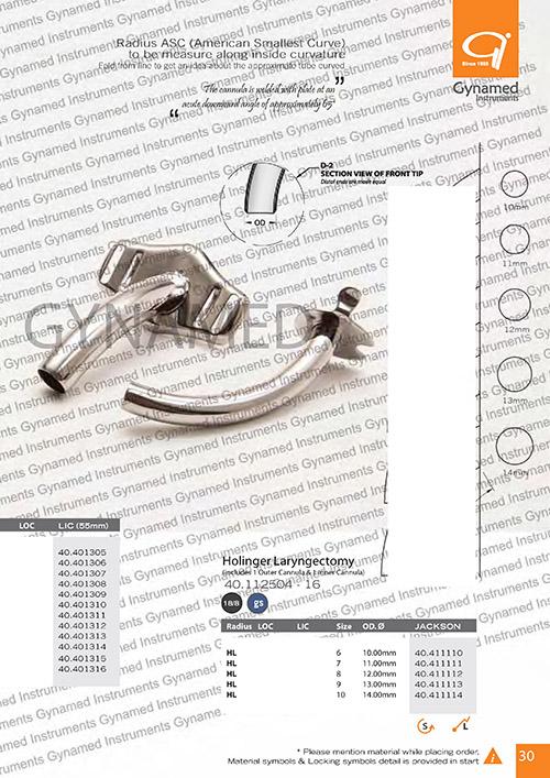 Laryngeal Cannula LIC (55mm), Radius